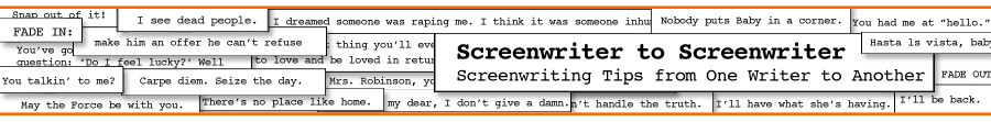Screenwriter-to-Screenwriter.com